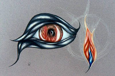 Drawing - Eye Of The Beholder by Karen Musick