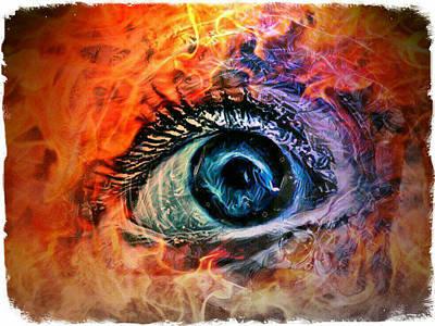 Digital Art - Eye Of The Beholder by Rhonda Barrett