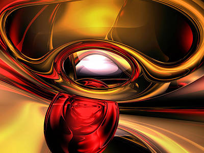 Holiness Digital Art - Eye Of The Gods Abstract by Alexander Butler
