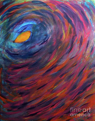 Painting - Eye Of The Hurricane by Robyn King