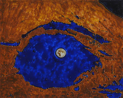 Painting - Eye Of The Moon by Phil Strang