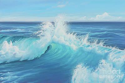 Painting - Eye Of The Ocean by Joe Mandrick