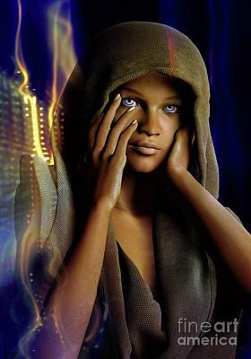 Digital Art - Eye Of The Soul by Shadowlea Is