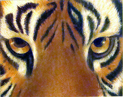 Pastel - Eye Of The Tiger by Lamarr Kramer