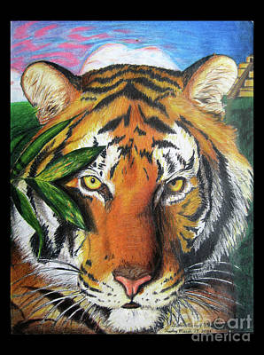 Eye Of The Tiger Art Print by Stephen Arnold