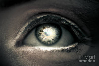 Seeing Photograph - Eye Of Time by Jorgo Photography - Wall Art Gallery