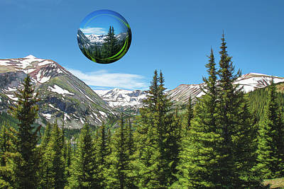Photograph - Eye On Summit County by Mike Braun