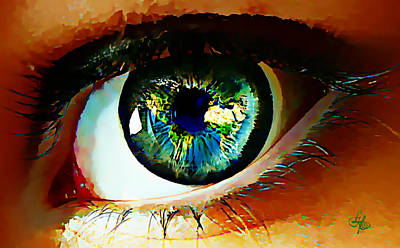 Eye On The World Art Print