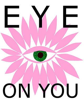 Mixed Media - Eye On You by Kristy Hansen