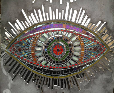 Photograph - Eye See A Mosaic by Michael Hoard