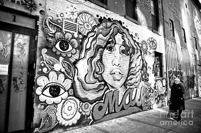 Photograph - Eye See You In The Bowery by John Rizzuto