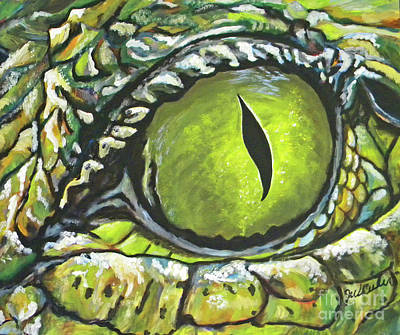 Painting - Eye Spy by JoAnn Wheeler