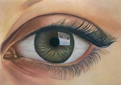 Pastel - Eye - The Window Of The Soul by Vishvesh Tadsare