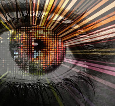 Eye Thoughts Art Print by Katie Ransbottom