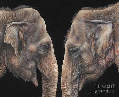 Eye To Eye Original by Dina Perejogina