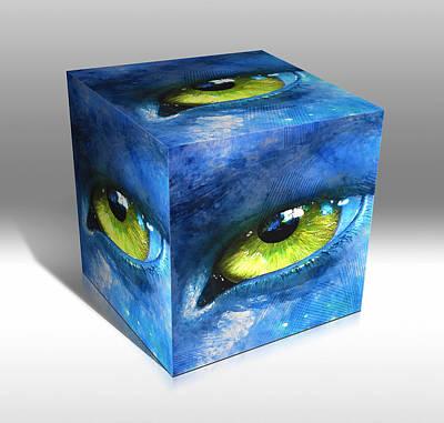 Mixed Media - Eye Wonder by Marvin Blaine