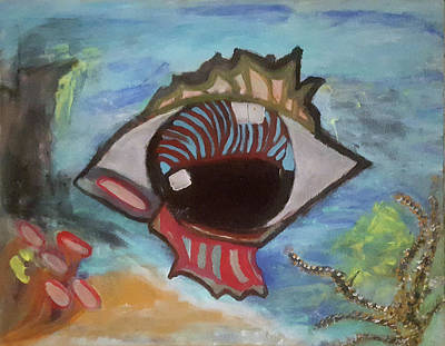 Studio Grafika Patterns - Eyefish by Kaleidoscope Arts