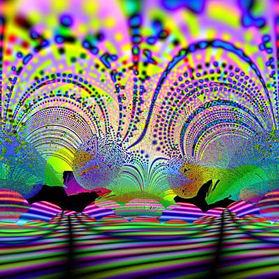 Digital Art - Eyelidermy by Andrew Kotlinski