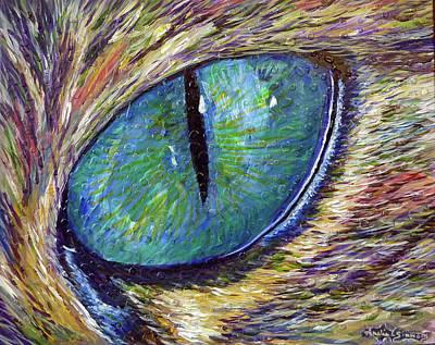 Eyenstein Art Print