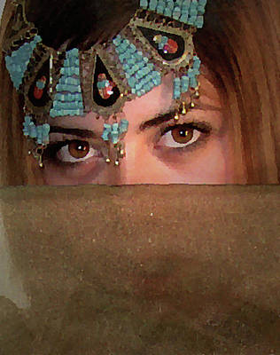 Digital Art - Eyes by Elisabeth Dubois