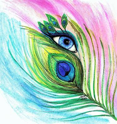 Mixed Media - Eyes Have It by Lorah Tout