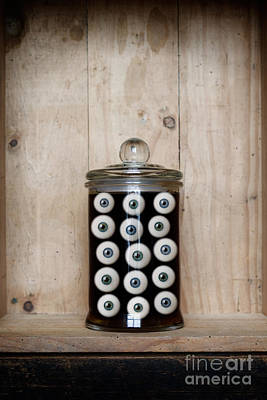 Photograph - Eyes In A Jar by Clayton Bastiani