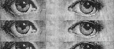 Photograph - Eyes Mug by Edward Fielding