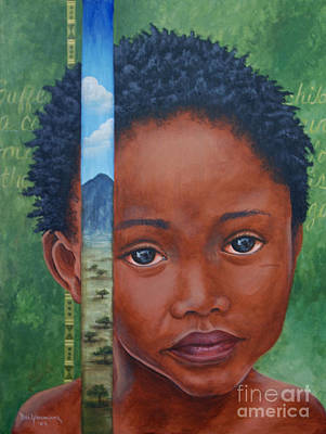 Eyes Of Africa Art Print by Dee Youmans-Miller
