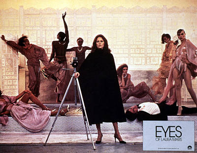 Posth Photograph - Eyes Of Laura Mars, Faye Dunaway, 1978 by Everett