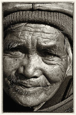Eyes Of Soul 2 Art Print by Skip Nall