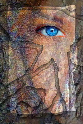 Eyes Of Stone Art Print