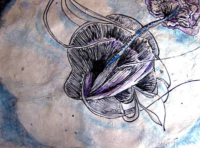 Mixed Media - Eyes Of The Soul by Sarah Hornsby