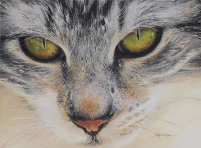 Comfort Painting - Eyes Of Wisdom 2 by Shelly Wilkerson