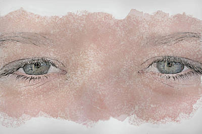 Youth Digital Art - Eyes Of Youth by Randy Steele