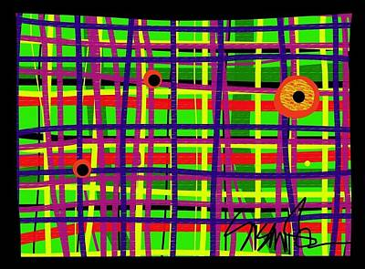 Digital Art - Eyes On The Grid by Susan Fielder