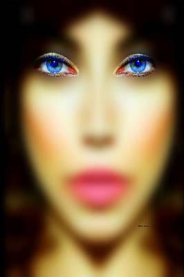 Digital Art - Eyes Only by Rafael Salazar