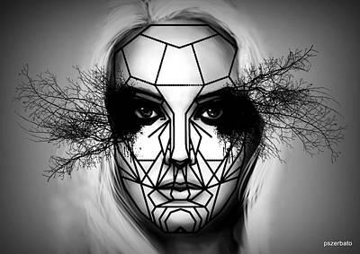 Eyes Tell The Truth Art Print by Paulo Zerbato