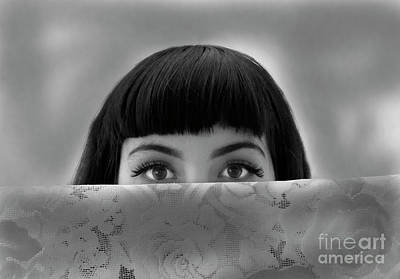 Photograph - Eyes To The Soul by Denise Oldridge