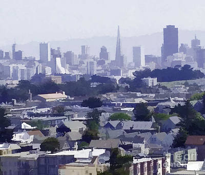 Photograph - Looking East Toward San Francisco by Joyce Creswell