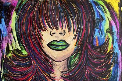 Painting - Eyes Wide Shut by Christine Regan Lake