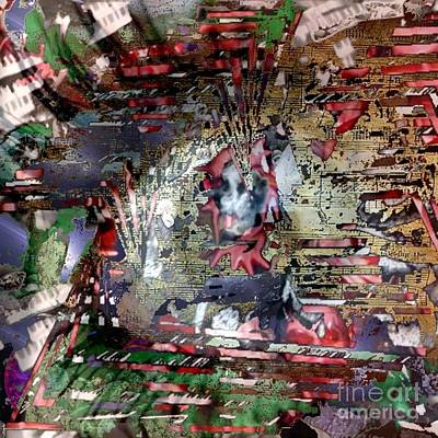 Digital Art - Eyescore by T Bork