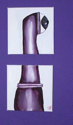 Painting - Eyeworm by Oneroses