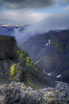 Photograph - Eyjafjallajokull Iceland 2 by Rudi Prott