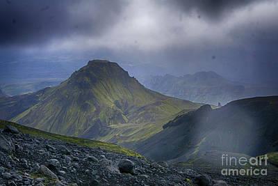Photograph - Eyjafjallajokull Iceland 3 by Rudi Prott
