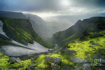 Photograph - Eyjafjallajoekull Iceland by Rudi Prott