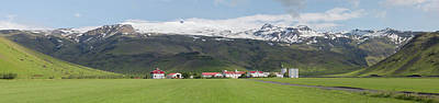 Photograph - Eyjafjallajokull, Iceland Landscape - 1602,s by Wally Hampton