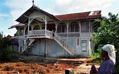 Photograph - Chief Eyo Bassey House by Muyiwa OSIFUYE
