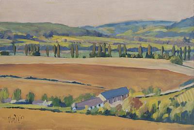 Painting - Eyserhalte Eys Wittem by Nop Briex