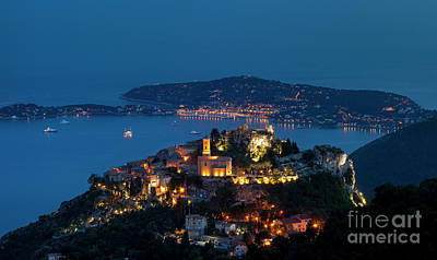 Photograph - Eze And Cote D'azur by Brian Jannsen