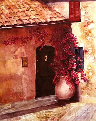 Painting - Eze by Suzanne Krueger